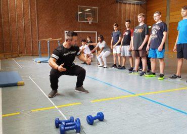 Trainingsprojekt für die Mittelschule St. Nikola