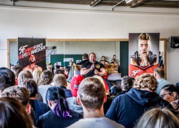 Markus Rühl zu Besuch im Shredforce Raw Gym
