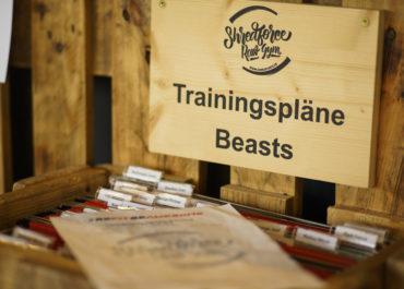 Trainigspläne für Beauties and Beasts